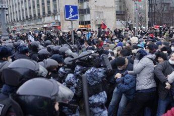 Митинг 31 января 2021 в Москве