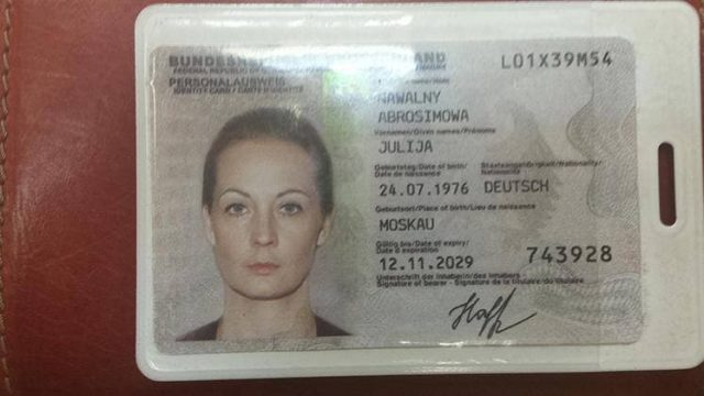 Артемий Лебедев опубликовал фейк о Юлии Навальной