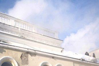 Горел ТЮЗ Томск
