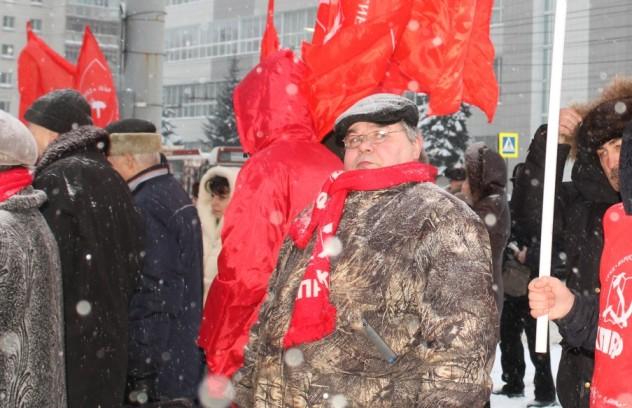 Митинг 7 февраля 2021 в Костроме