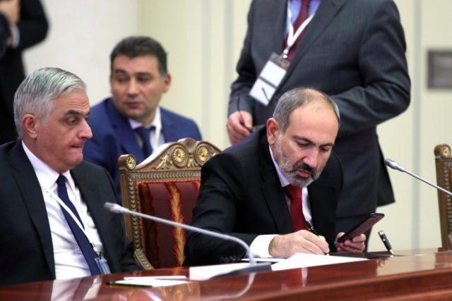 Пашинян отставка 2021