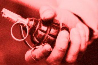Пьяный тик-токер бросил в полицейских муляж гранаты