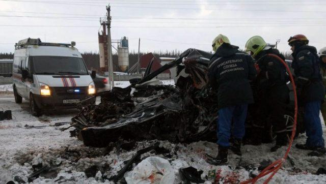 ДТП Самара новые подробности с гибелью 7 молодых людей