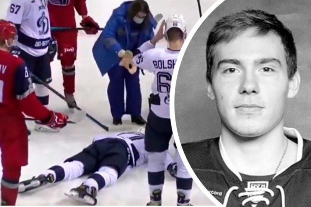 Хоккеист умер от удара шайбой