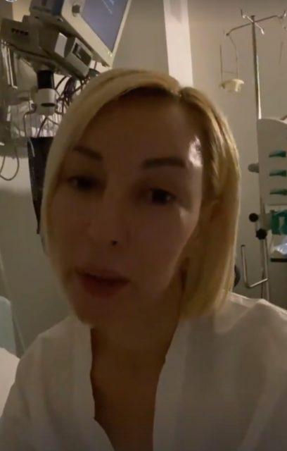Лера Кудрявцева в реанимации