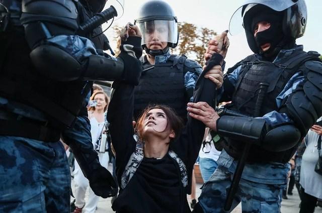 Митинг 20 марта 2021 в Москве