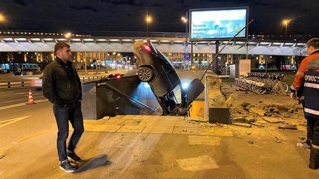 Авария на Варшавском шоссе
