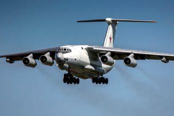 ИЛ-78 Жуковский - аварийная посадка