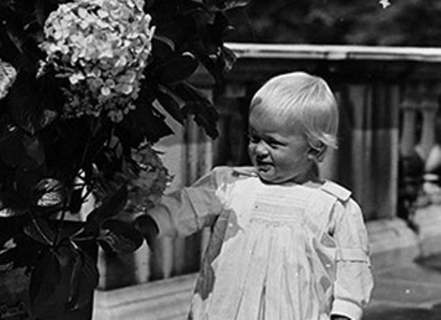 Принц Филипп в молодости