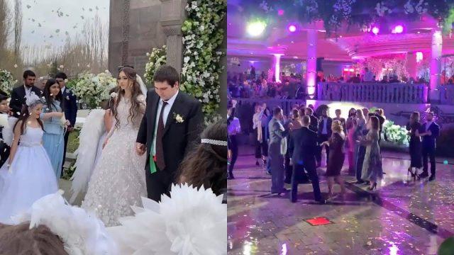Свадьба сына Гагика Царукяна Нвера