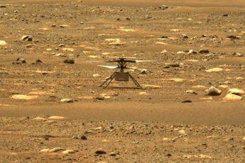 Вертолет на Марсе первый полет