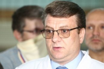 Главврач омской больницы Александр Мураховский