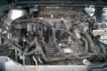 Установка двигателя Ford